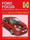 Haynes Workshop Manual Ford Focus Petrol & Diesel (Oct 01 - 05) 51 to 05